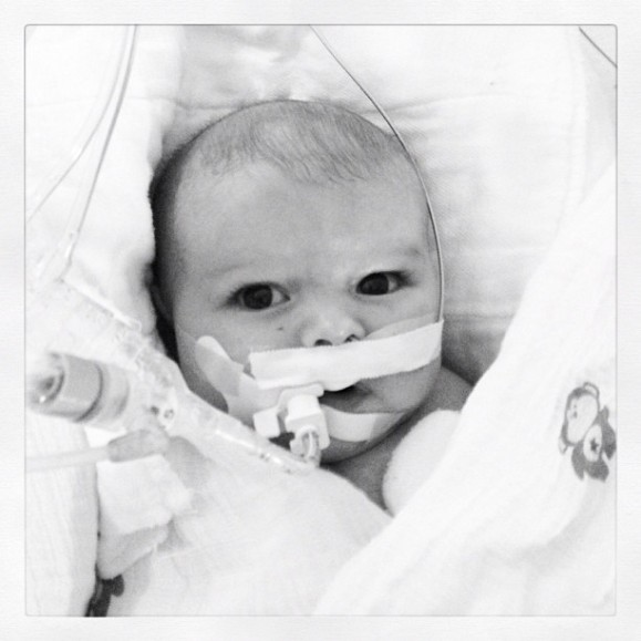 Beckett Intubated (again)